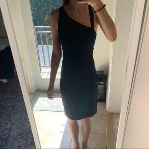 Diane von Furstenberg Black Cocktail Dress